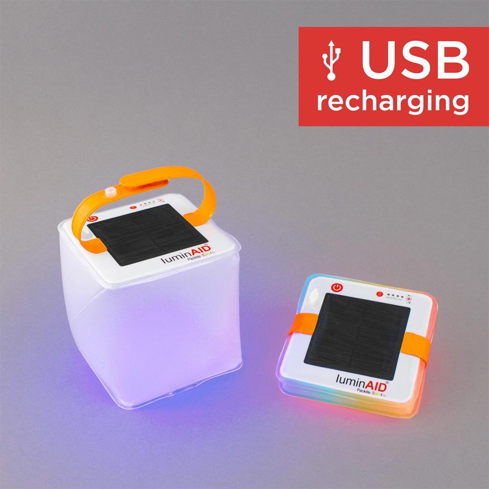 A Lumin Aid Spectra USB light
