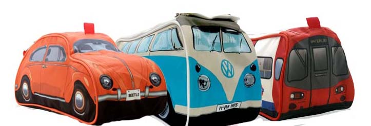 Campervan, Beetle ,Underground Novelty Wash Bags