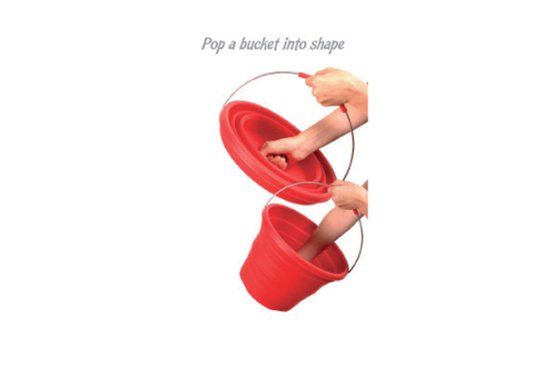 Whacky Practicals Silicone Folding Bucket
