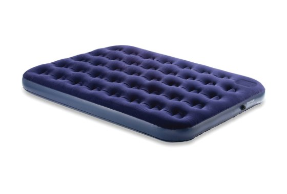 Blue Yellowstone Deluxe Double Flock Airbed