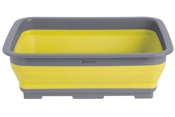 Outwell Yellow Silicone Washing Up Bowl