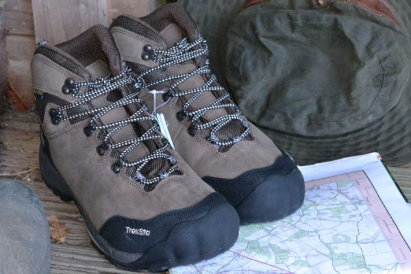 Treksta Alta GTX Waterproof Hiking Boot - Brown Leather