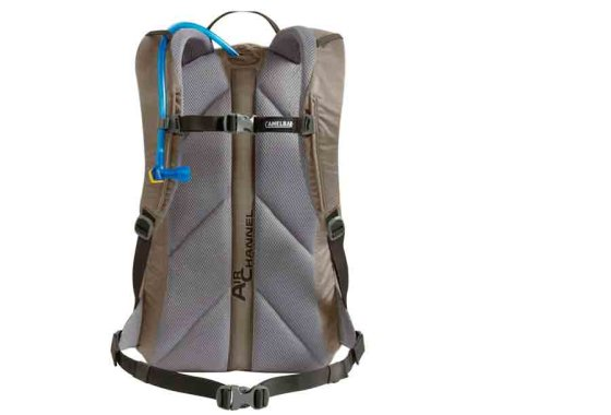 Rear view of Camelbak Rim Runner 22 Backpack