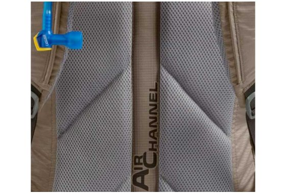 Camelbak Rim Runner 22 Rear Air Channel detail