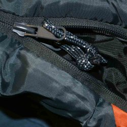 The reversable zip features with all Serenity range of sleeping bags