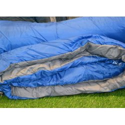 Highlander Sleepline 250 Double Sleeping Bag with soft inner fabrics