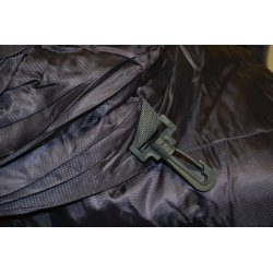 Sleeping Bag length can be adjusted using the attached clips
