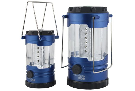 Yellowstone LED Family Camping Lantern Set