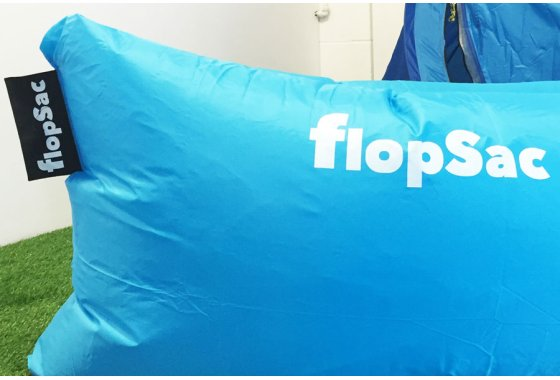 Blue FlopSac Inflatable sofa