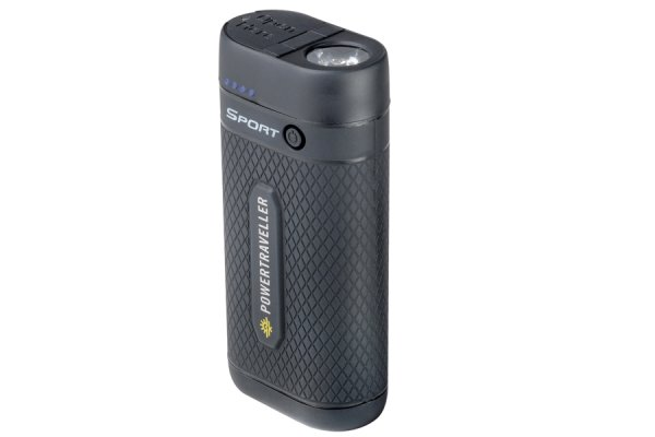 Powertraveller Sport 25 Power Bank with Torch