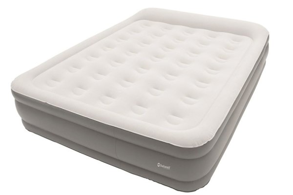 Double superior flocked airbed by Outwell