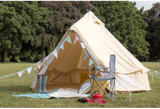 Cotton 4 Man Wigwam Bell Tent