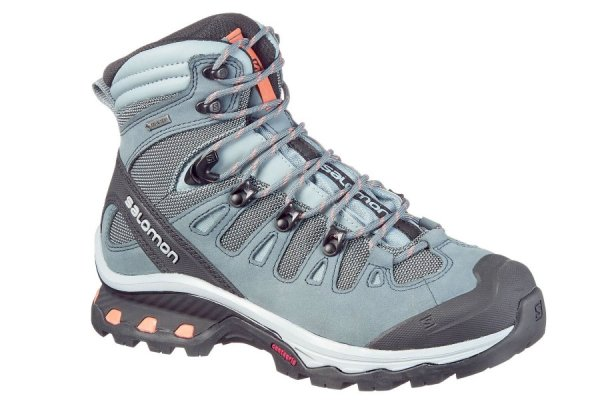 Womens Blue Salomon Quest Walking Boots