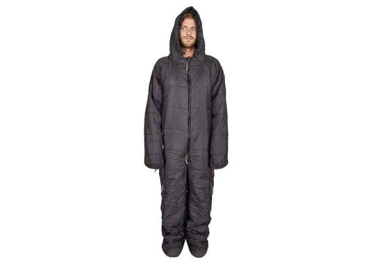 Hygger Nanuk Sleeping Bag Suit - Black