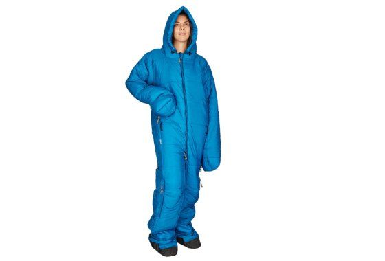 Blue Hygger Sleeping Bag Suit