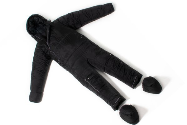 Selkbag 6GO Sleeping Bag Suit black colour