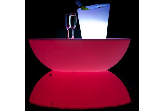 Light Up Party Table - Medium