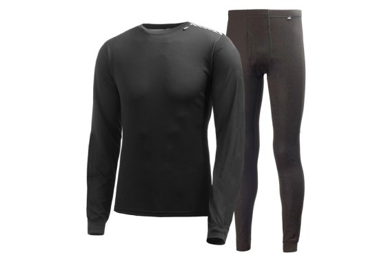 Mens Helly Hansen Light Base Layer Set