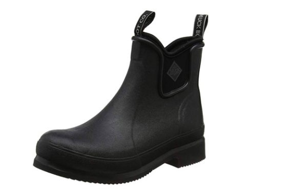 Muck Boots - Mens Black Ankle Welly Boots
