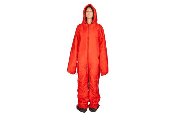 Red Hygger Sleeping Bag Suit
