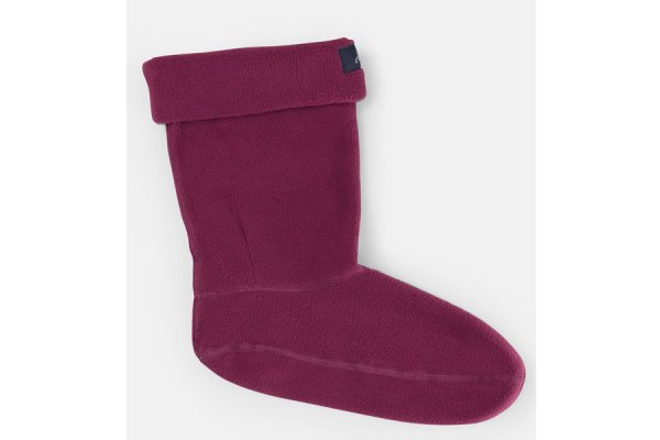 Joules Welly Liner Socks - Berry colour