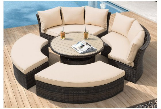 Rattan Soga Daybed Windsor