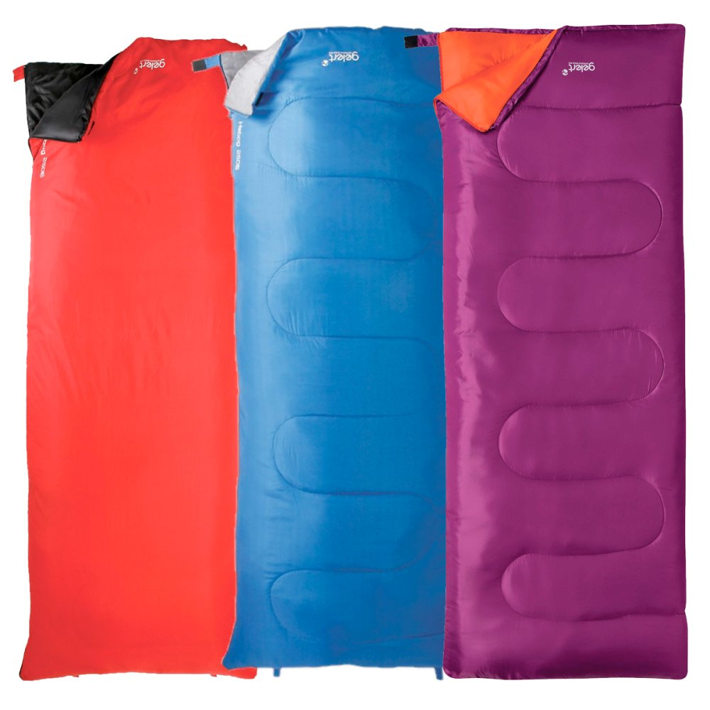 62688f8e09 Gelert Hebog 250 Sleeping Bags available colours are Red