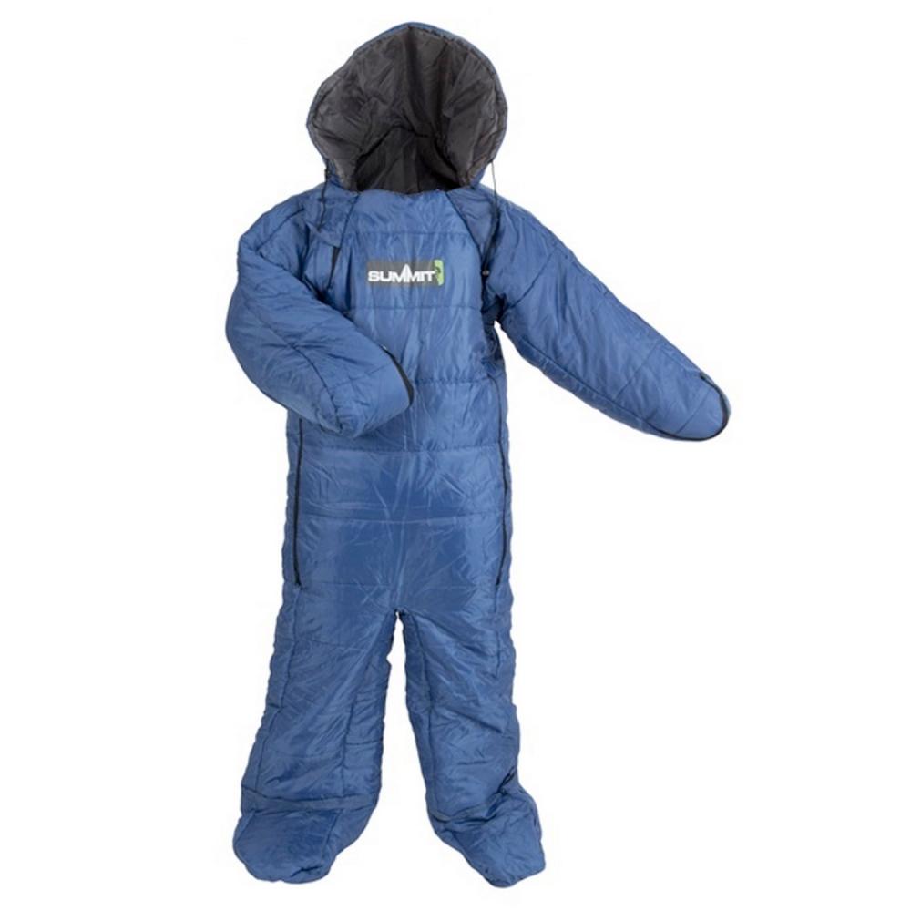 adult summit motion sac sleeping bag suit blue green. Black Bedroom Furniture Sets. Home Design Ideas