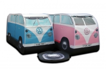 Blue and Pink Kids VW Campervan Tent