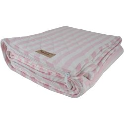 Pink & White Cotton Sleeping Bag by Bill Brown