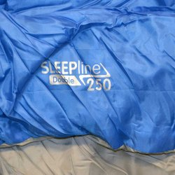 Sleepline 250 Double Sleeping Bag - Royal Blue