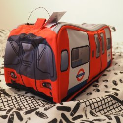 London Underground Tube Wash Bag