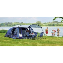 Camping by the lake, Outwell Amarillo 6 Man Tent