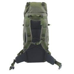Rear view Olive Yellowstone 65L Rucksack