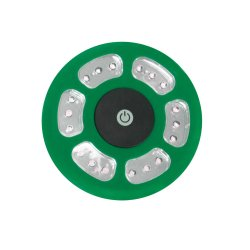 Green Yellowstone LED Tent Light with hook