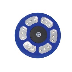 Blue Yellowstone LED Tent Light with hook