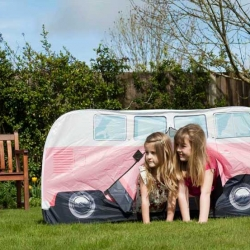 Pink Kids VW Camper Van Play Tent