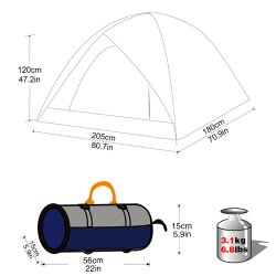 Dome Tent Specifications
