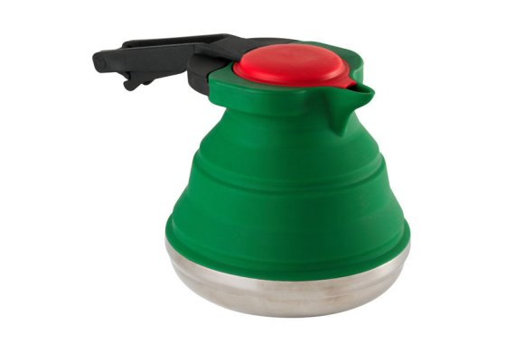 Green Whacky Practicals Silicone Folding Kettle