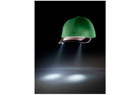 Solar Torch Cap - Green