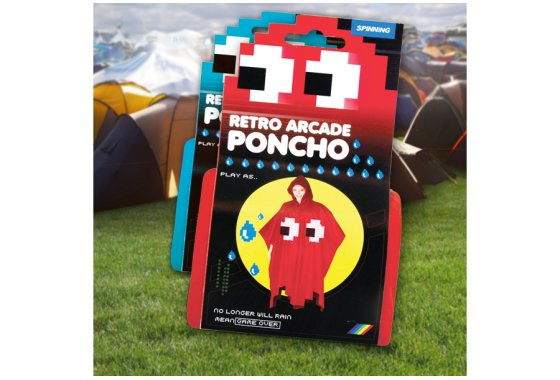 Retro Poncho packaging