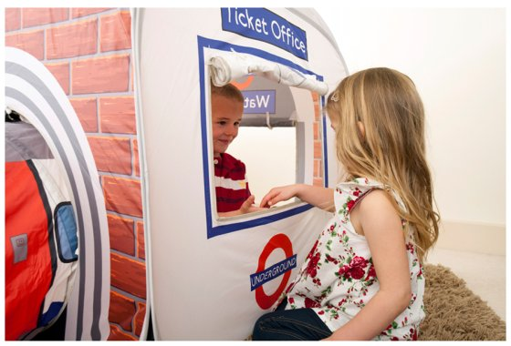 'Underground Travel Card please' - Ticket Office Feature - K