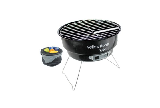 Yellowstone Folding BBQ with Cooler Bag