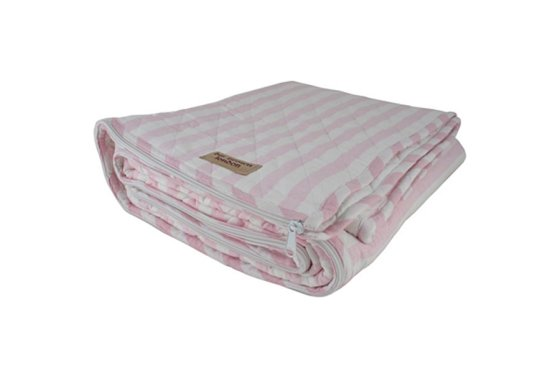 Bill Brown Cotton Pink and White Sleeping Bag