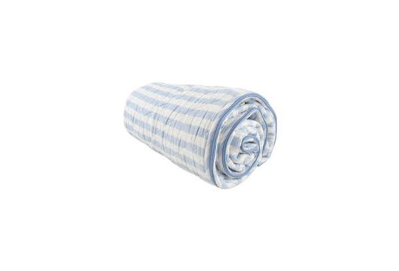 Bill Brown Cotton Blue and White Sleeping Bag