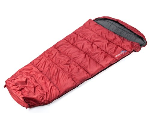 Skandika Vegas Red Sleeping Bag - Right Zip