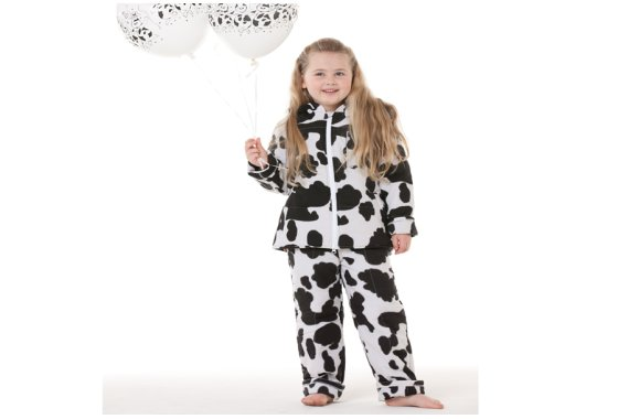 Cow lazypatch Kids Duvet Suit