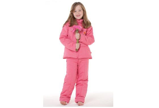 Pink lazypatch Kids Duvet Suit