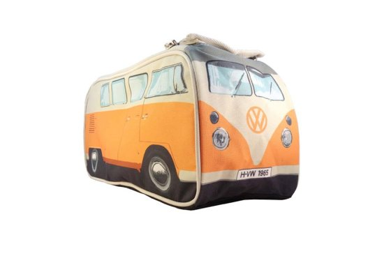 Orange VW Wash Bag