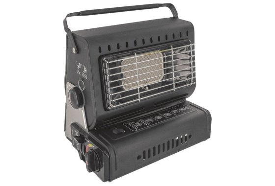 Highlander Black Portable Gas Heater